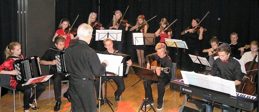 Tangoensemblet Bærum kommunale musikkskole