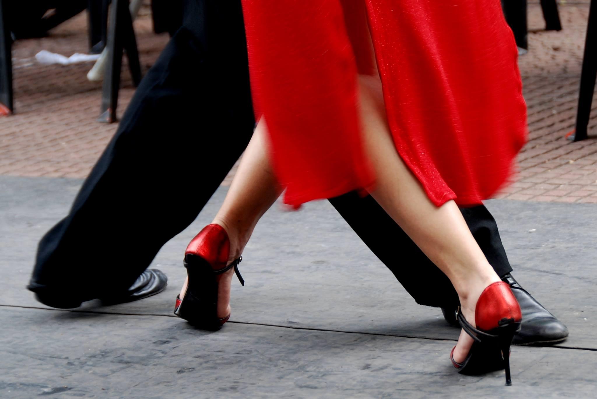 Tangodansende par